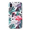 hesapli iPhone Kılıfları-Pouzdro Uyumluluk Apple iPhone X iPhone 8 Temalı Arka Kapak Flamingo Sert PC için iPhone X iPhone 8 Plus iPhone 8 iPhone 7 Plus iPhone 7