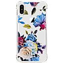 Funda Para Apple iPhone X iPhone 8 iPhone 8 Plus Ultrafina Transparente Diseños Cubierta Trasera Flor Suave TPU para iPhone X iPhone 8