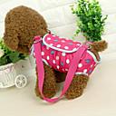 ieftine Îmbrăcăminte Pisică-Pisici Câine Umăr Bag Animale de Companie  Genţi Transport Portabil Buline Albastru Roz