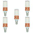 رخيصةأون أغطية أيفون-BRELONG® 5pcs 12 W أضواء LED ذرة 1000 lm E14 T 60 الخرز LED SMD 2835 أبيض دافئ أبيض المزدوج مصدر الضوء اللون 220-240 V