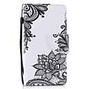 cheap iPod Cases/Covers-Case For iTouch 5/6 Wallet Card Holder with Stand Flip Pattern Full Body Cases Hard