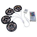 cheap LED Strip Lights-HKV 20m Light Sets 1200 LEDs 3528 SMD RGB Cuttable / Dimmable / Linkable 12 V / Self-adhesive / Color-Changing
