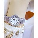 preiswerte Damenuhren-Damen Chinesisch Chronograph Band Luxus / Freizeit / Modisch Silber / Rot / Rotgold / Edelstahl / Ein Jahr / Sony 377