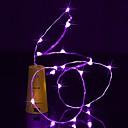 رخيصةأون مصابيح ليد ثنائية-BRELONG® 2M أضواء سلسلة 20 المصابيح أبيض دافئ / أبيض / أحمر ضد الماء <5 V 1PC