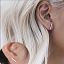 cheap Earrings-Women's Stud Earrings - Personalized, Fashion, Euramerican Gold / Silvery For Daily / Casual