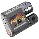 ieftine Cabluri de Adaptor AC & Curent-I1000 1080p Car DVR 110 Degree Unghi larg 1.8 inch LCD Dash Cam cu Detector de Mișcare 4 infraroșu LEDs Car recorder