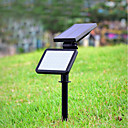 baratos Arandelas de Exterior-1pç 4.5 W Luzes do gramado Decorativa Branco Natural Iluminação Externa 48 Contas LED