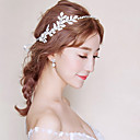 זול תכשיטים לשיער-סרט לראש ריינסטון סגנון רשמי אסייתי סגנון קלאסי בגדי ריקוד נשים