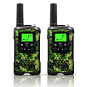 cheap Walkie Talkies-48 462 Walkie Talkie Handheld Low Battery Warning / Power Saving Function / VOX 5KM-10KM 5KM-10KM 22 0.5 W Walkie Talkie Two Way Radio