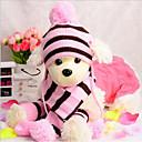 Χαμηλού Κόστους Ρούχα και αξεσουάρ για σκύλους-Γάτα Σκύλος Καπέλα, Κάπες & Μπαντάνες Κασκόλ για σκύλους Ρούχα για σκύλους Ριγέ Κίτρινο Ροζ Ουράνιο Τόξο Άλλο Υλικό Στολές Για Άνοιξη & Χειμώνας Χειμώνας νέος Καθημερινά Διατηρείτε Ζεστό