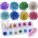 cheap Makeup & Nail Care-1 pcs Decals Cute / Flower / Lovely nail art Manicure Pedicure Anniversary / Party / Evening / Daily Glamorous & Dramatic