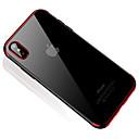رخيصةأون أغطية أيفون-غطاء من أجل Apple iPhone X / إفون 8 / iPhone 8 Plus شبه شفّاف غطاء خلفي شفاف ناعم TPU إلى iPhone X / iPhone 8 Plus / iPhone 8
