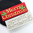 hesapli Köpek Giyim ve Aksesuarları-Bakeware araçları Silika Jel Tatil / Doğum Dünü / Yeni Yıl'ınkiler Candy Yuvarlak Pasta Kalıpları 1pc
