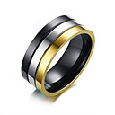 cheap Rings-Men's Band Ring - Stainless Steel Fashion 8 / 9 / 10 Assorted Color For Daily / Formal