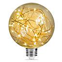 رخيصةأون أضواء شريط LED-1PC 3 W مصابيحLED 200 lm E26 / E27 G95 33 الخرز LED مصلحة الارصاد الجوية ديكور نجمي عيد الميلاد الديكور الزفاف أبيض دافئ 85-265 V / بنفايات