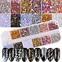 cheap Makeup & Nail Care-1set / 1pc Glitter Powder Sequins nail art Manicure Pedicure Classic Daily