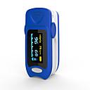 hesapli PS2 Aksesuarları-doğru fs20a oled parmak ucu nabız oksimetre oksimetre kan oksijen doygunluğu monitör pille mavi renk