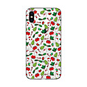 cheap iPhone Cases-Case For iPhone 7 / iPhone 7 Plus / iPhone 6s Plus iPhone X / iPhone 8 Plus / iPhone 7 Translucent / Pattern Back Cover Christmas Soft TPU for iPhone X / iPhone 8 Plus / iPhone 8