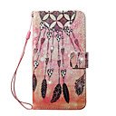 cheap Baking Tools & Gadgets-Case For Apple iPhone 8 iPhone 8 Plus Card Holder Wallet Rhinestone with Stand Pattern Full Body Cases Dream Catcher Hard PU Leather for
