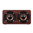 Χαμηλού Κόστους Ηχεία-W55 Bluetooth Speaker Mini Style Bluetooth Μεγάφωνο Micro USB Καφέ