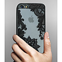 preiswerte Anime Cosplay-Hülle Für Apple iPhone X iPhone 8 iPhone 5 Hülle iPhone 6 iPhone 6 Plus Transparent Muster Rückseite Lace Printing Hart PC für iPhone X