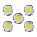 ieftine LED-uri-5pcs 5600lm Accesoriu pentru becuri Cip LED Alamă 70W