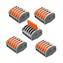 cheap Daytime Running Lights-ZDM® 5pcs Strip Light Accessory Plastic Electrical Connector