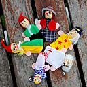 preiswerte Marionetten und Handpuppen-Fingerpuppen Marionetten Tue so als ob du spielst Niedlich lieblich Plüsch Kinder Mädchen Spielzeuge Geschenk 6 pcs