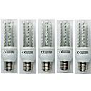 baratos Capinhas para Galaxy Série S-5pçs 9W 720lm E27 Lâmpadas Espiga T30 48 Contas LED SMD 3528 Branco Frio 110-240V