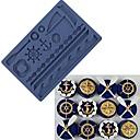 Недорогие Записные книжки и стикеры-морская лодка океан силиконовая помада пресс-форма для тортов инструменты для шоколада gumpaste mold