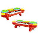 preiswerte Puzzles-Elektronisches Piano-Spielzeug Spielzeuge Piano Kunststoff 1 Stücke Kinder Geschenk