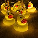 preiswerte RGB Regler-3 M Leuchtgirlanden 20 LEDs Warmes Weiß 1set
