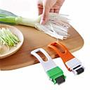 hesapli Banyo Gereçleri-Yaratıcı yeşil soğan kesici bıçak rendeler sebze biber rendelenmiş pişirme araçları ev mutfak alet
