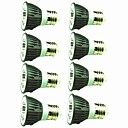 hesapli LED Spot Işıkları-8pcs 5W 450lm E14 E26 / E27 LED Spot Işıkları 1 LED Boncuklar COB Dekorotif Sıcak Beyaz Serin Beyaz 220-240V