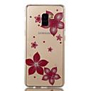 Χαμηλού Κόστους Θήκες / Καλύμματα Galaxy A Series-tok Για Samsung Galaxy A8 2018 A8 Plus 2018 IMD Με σχέδια Πίσω Κάλυμμα Λουλούδι Λάμψη γκλίτερ Μαλακή TPU για A3 (2017) A5 (2017) A8+ 2018