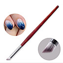 cheap Makeup & Nail Care-1pc Nail Acrylic Brush Nail Brushes For Finger Nail Gradient nail art Manicure Pedicure Professional Casual / Daily