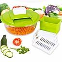 hesapli Ses ve Video Kabloları-Mutfak aletleri Plastikler / Paslanmaz Çelik Yaratıcı Mutfak Gadget Meyve ve Sebze Araçları Çok Fonksiyonlu / Meyve / Sebze için 1pc