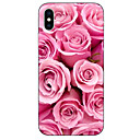 cheap iPhone Cases-Case For Apple iPhone X / iPhone 8 Pattern Back Cover Flower Soft TPU for iPhone X / iPhone 8 Plus / iPhone 8
