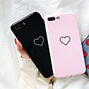 رخيصةأون أغطية أيفون-غطاء من أجل Apple iPhone X / iPhone 8 Plus / iPhone 8 نموذج غطاء خلفي قلب ناعم TPU