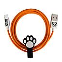 tanie Akcesoria do domu i dla zwierząt-Micro USB Adapter kabla USB Szybka opłata Wysoka prędkość Kable Na Samsung Huawei LG Nokia Lenovo Xiaomi Motorola HTC Sony 100 cm TPE