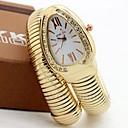 preiswerte Barfußsandalen-Damen Paar Uhr Armbanduhren für den Alltag Modeuhr Einzigartige kreative Uhr Quartz Legierung Silber / Gold / Rotgold Armbanduhren für den Alltag Analog damas Luxus Freizeit Gold Silber Rose