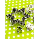 preiswerte LED-Kolbenbirnen-Backwerkzeuge Edelstahl Multi-Funktion / Hitzebeständig / Kreative Küche Gadget Plätzchen / Multifunktion / Chocolate Pie Werkzeuge 10 Stück