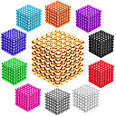 cheap Magnet Toys-216 pcs 3mm Magnet Toy Magnetic Balls Building Blocks Super Strong Rare-Earth Magnets Neodymium Magnet Stress and Anxiety Relief Office Desk Toys DIY Kid's / Adults' / Children's Unisex Boys' Girls'