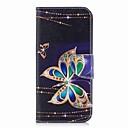 voordelige Galaxy S-serie hoesjes / covers-hoesje Voor Samsung Galaxy S9 Plus / S9 Portemonnee / Kaarthouder / met standaard Volledig hoesje Vlinder Hard PU-nahka voor S9 / S9 Plus / S8 Plus