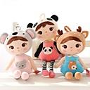hesapli Peluş Oyuncaklar-Baby Bed Pillow Toy Rabbit Hayvan Plyšáci Sevimli Rahat Genç Kız Oyuncaklar Hediye