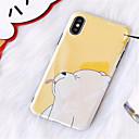 hesapli Galaxy S Serisi Kılıfları / Kapakları-Pouzdro Uyumluluk Apple iPhone X / iPhone 7 Plus Temalı Arka Kapak Karton Yumuşak TPU için iPhone X / iPhone 8 Plus / iPhone 8