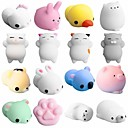 cheap Magic Cubes-LT.Squishies Squeeze Toy / Sensory Toy Animal Animal Stress and Anxiety Relief Office Desk Toys Squishy 5 pcs Adults' Toy Gift