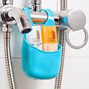 hesapli Banyo Gereçleri-Kancalar Çok-fonksiyonlu Kullanımı Kolay Yenilikçi Depolama Çıkarılabilir Yaratıcı Temel Plastik PVC banyo organizasyonu Diğer Banyo