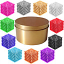 cheap Cell Phone Charms-216*1   216*2   216*3 pcs Magnet Toy Magnetic Balls Building Blocks Puzzle Cube Magnetic Magnetic Type Professional Level 3mm Adults' Boys' Girls' Toy Gift