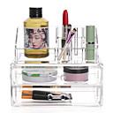 hesapli Banyo Gereçleri-Cosmetics Storage / Depolama Çok-fonksiyonlu / Yaratıcı / Su Geçirmez Butik / Moda / Modern Plastik 1set - Gereçleri banyo organizasyonu / Banyo dekorasyonu